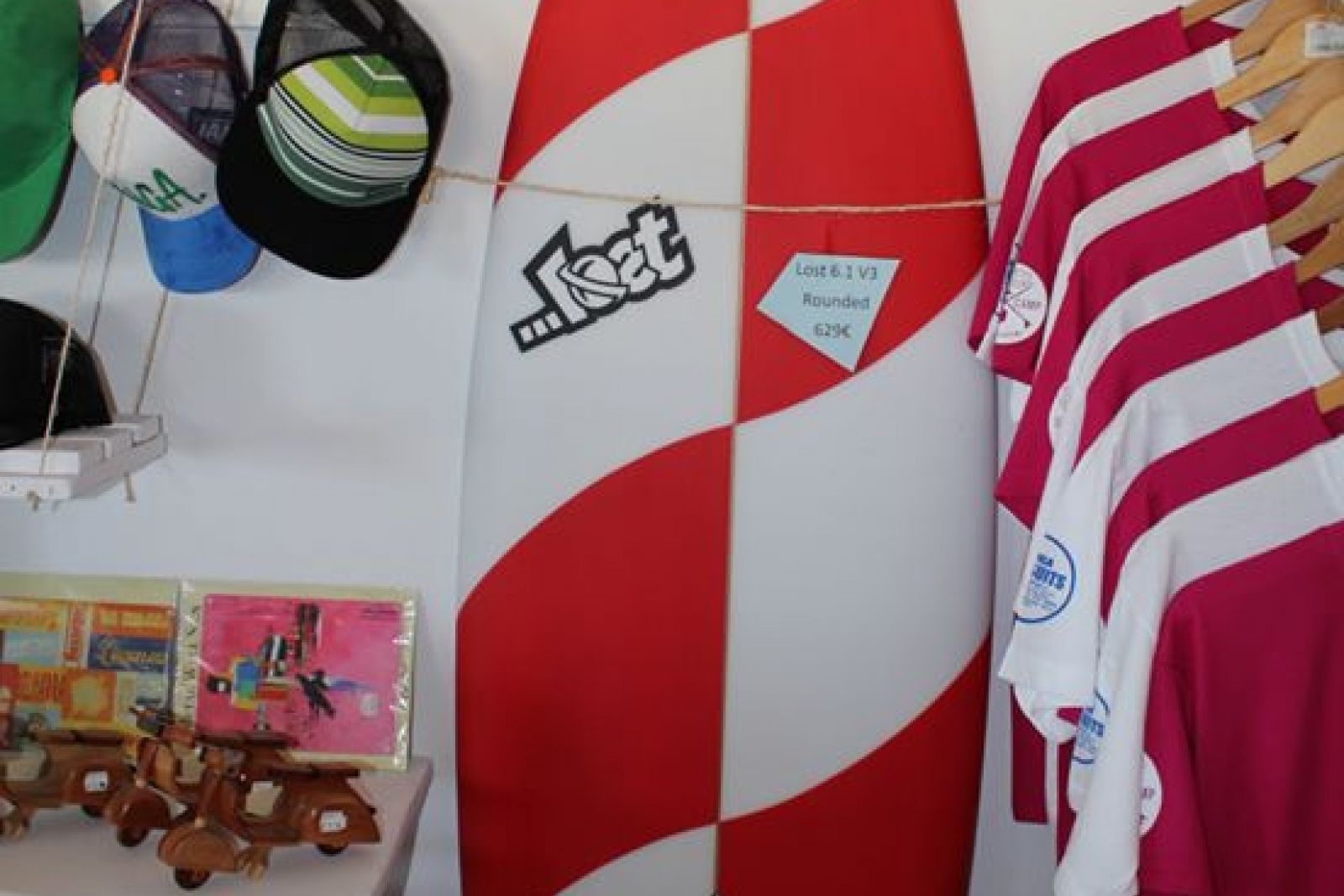 Pukas & Lost Surfboards