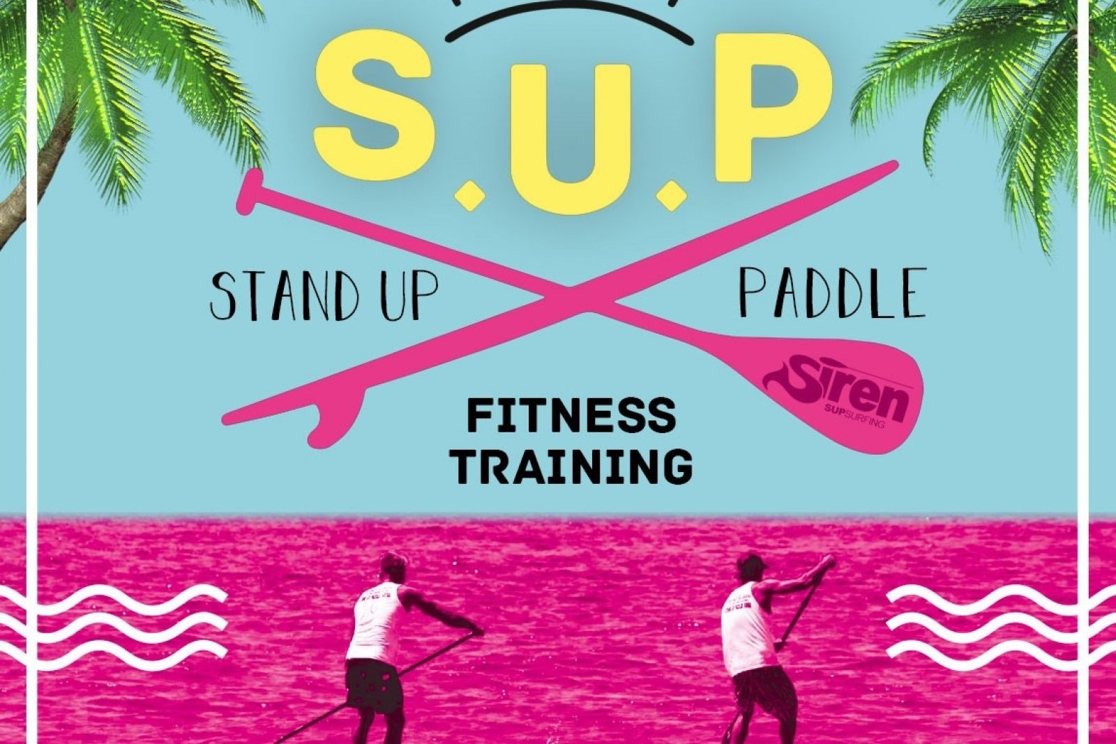 SUP Race und Fitness Training