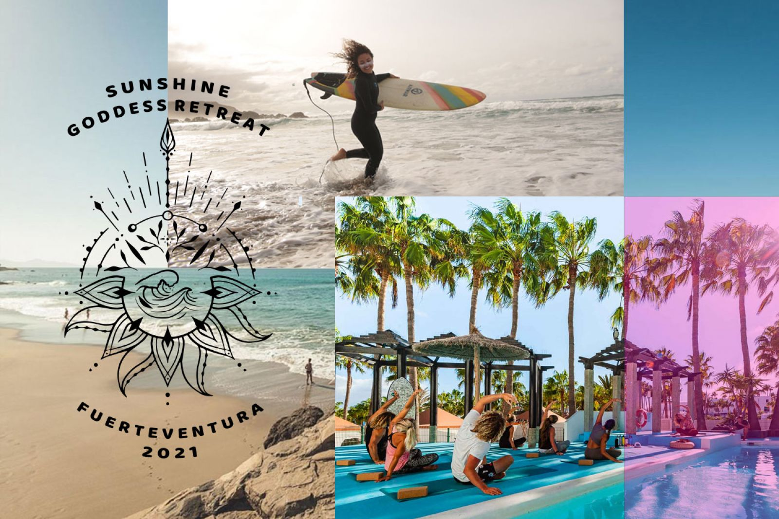 A GODDESS Yoga & Surf RETREAT for woman only