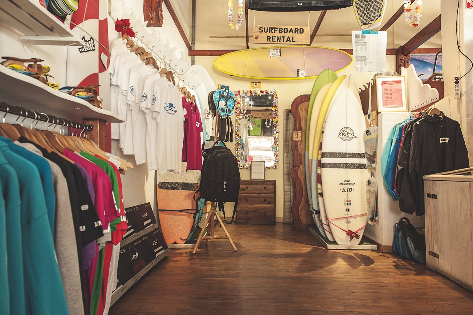 Rapanui Surfschool Surfshop